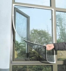 A magnetic mosquito net.