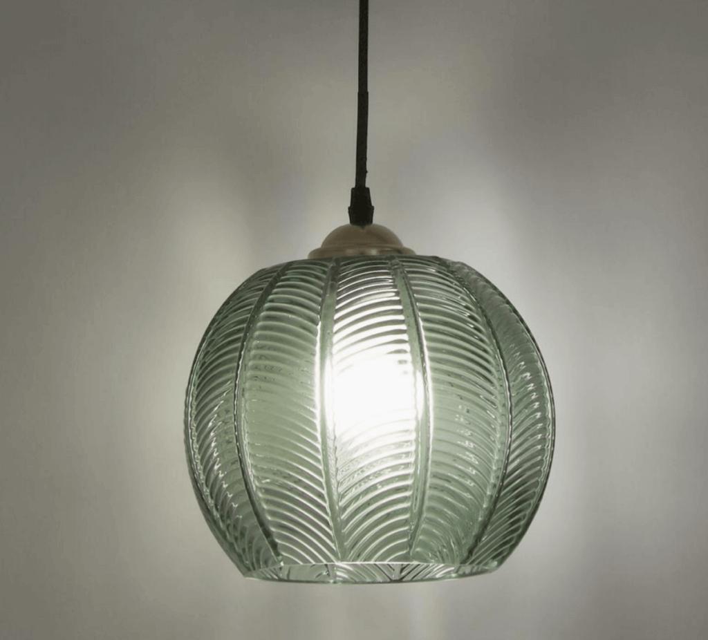A ceiling light.