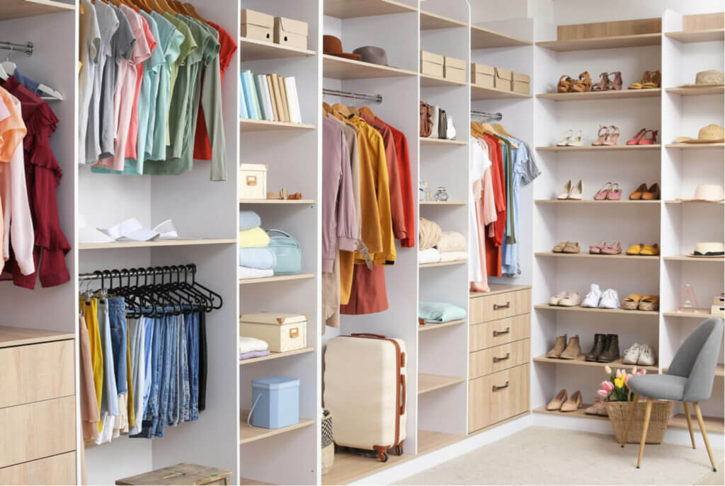 The closet of your dreams is within reach