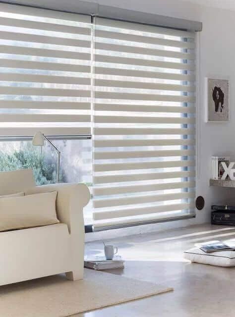 An image representing horizontal and vertical shutter blinds.