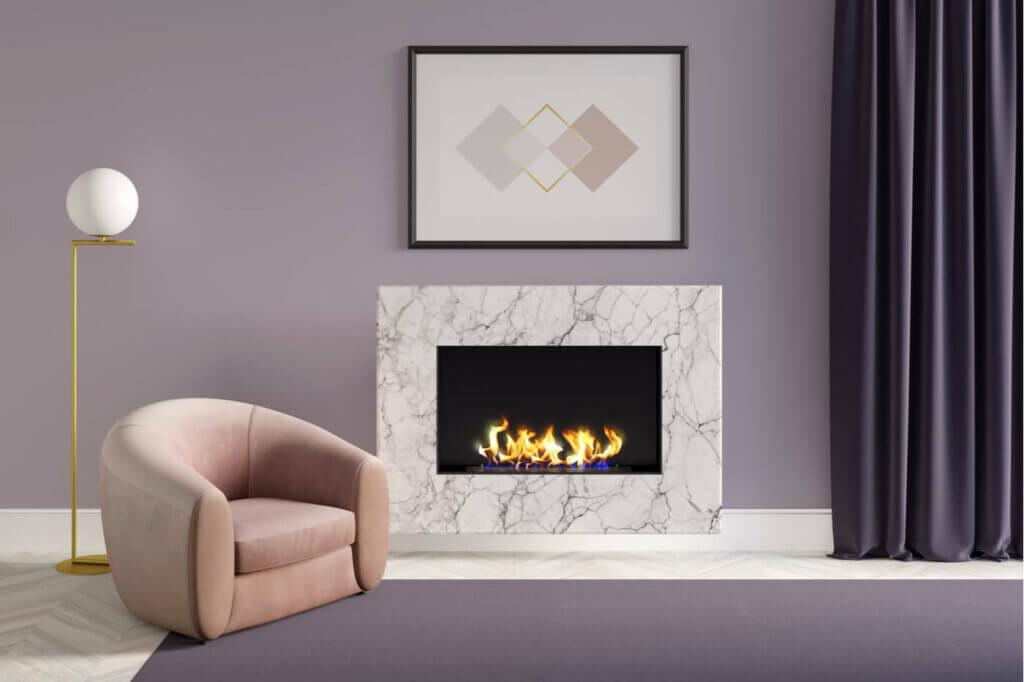 Fireplaces decoration