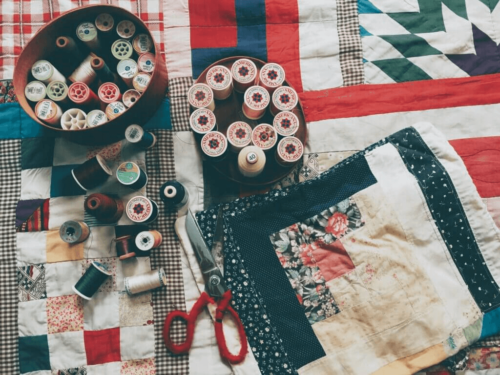 Creating Collages Using Fabric Scraps: A Decor Idea