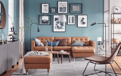 Innovative design ideas can add life to your living room.