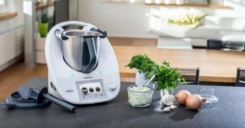 Thermomix kitchen robot.