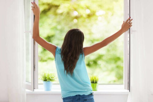 Creating airflow can help cool down your house.