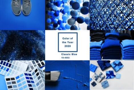 Classic Blue, the colour of 2020
