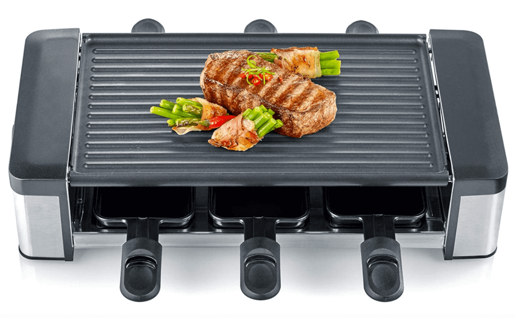 The Severin RG 2676 Raclette Grill.