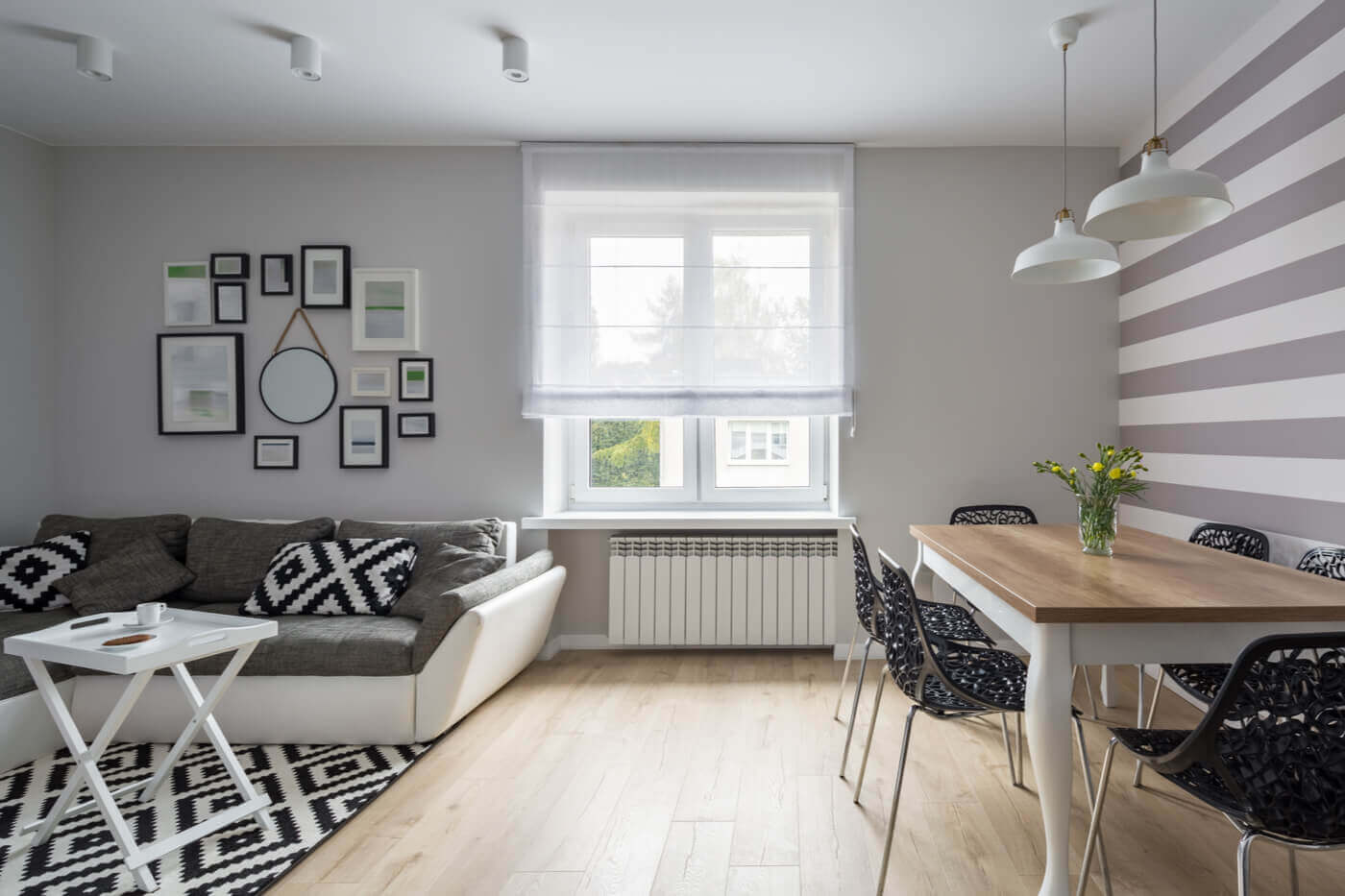 Blinds for small spaces.