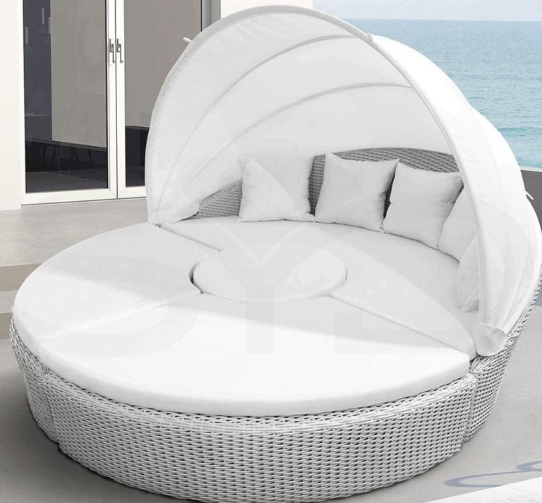 A Circular Vegetable Fiber Bed for Your Garden