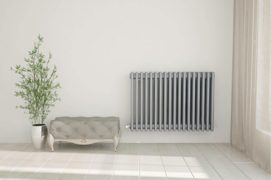 Different types of radiators for different decorative styles.