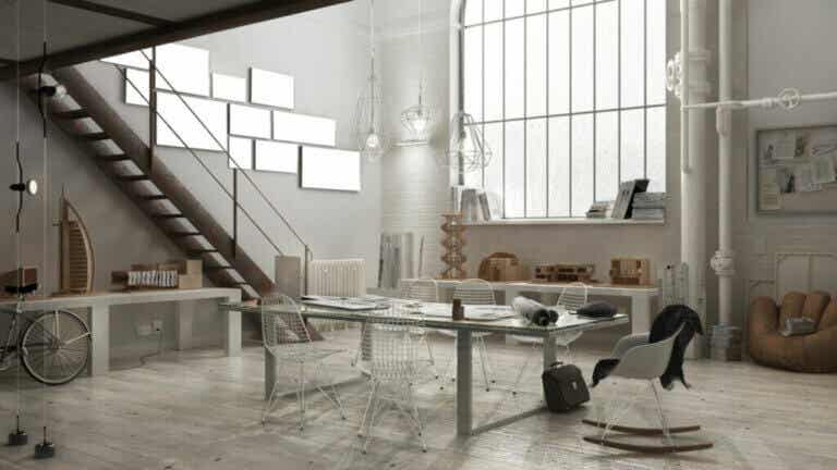 Industrial-Style Tables for Your Workspace
