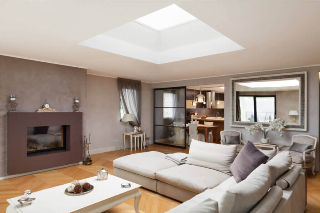 The Aesthetic Effect of Skylights in the Home