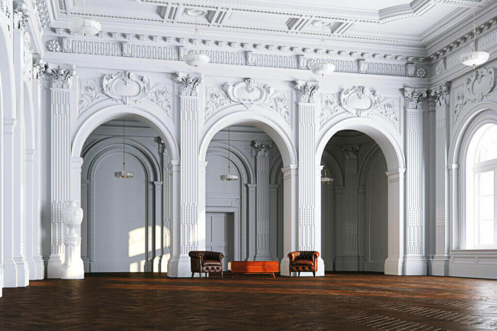 3 Kinds of Arches for the Construction of Interiors