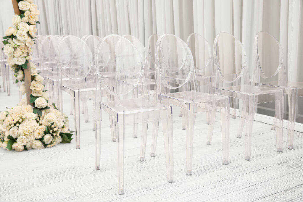 Clear Plastic Chairs are the New Trend
