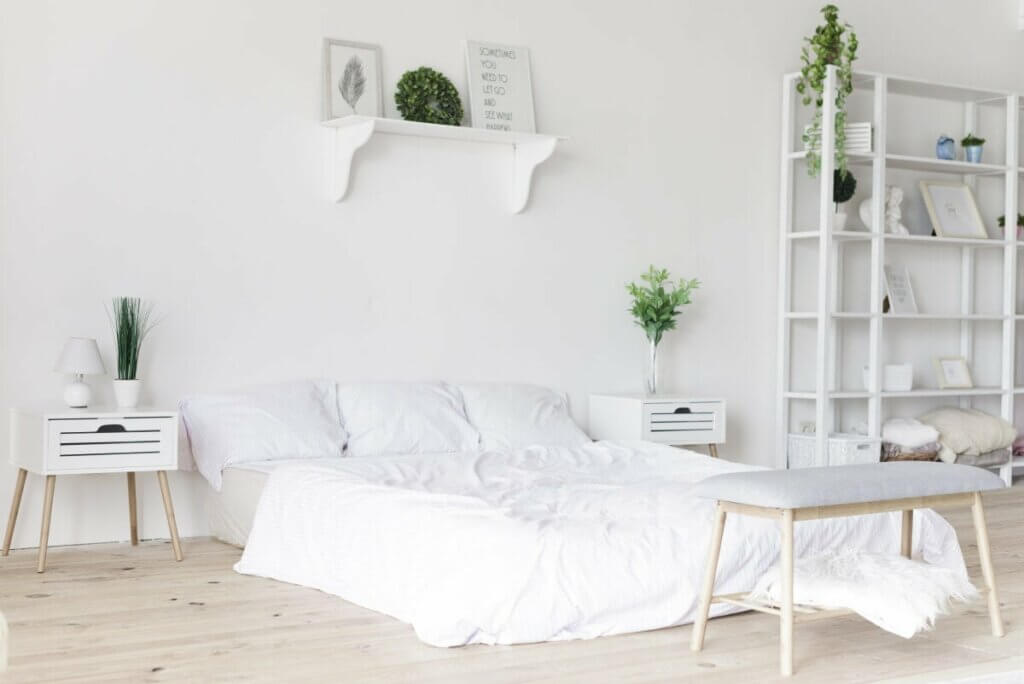 create a home without colour