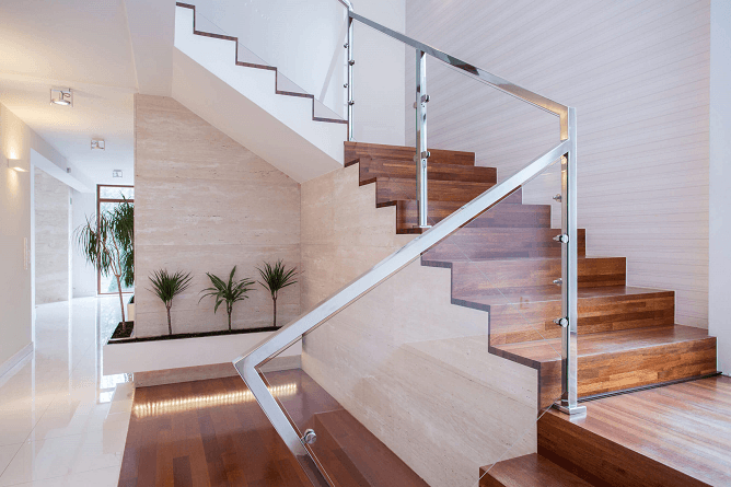 glass banisters for your home