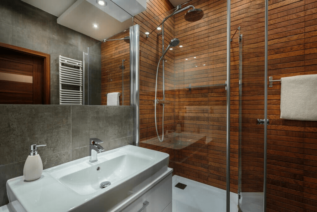 Wooden Showers for Different Bathrooms