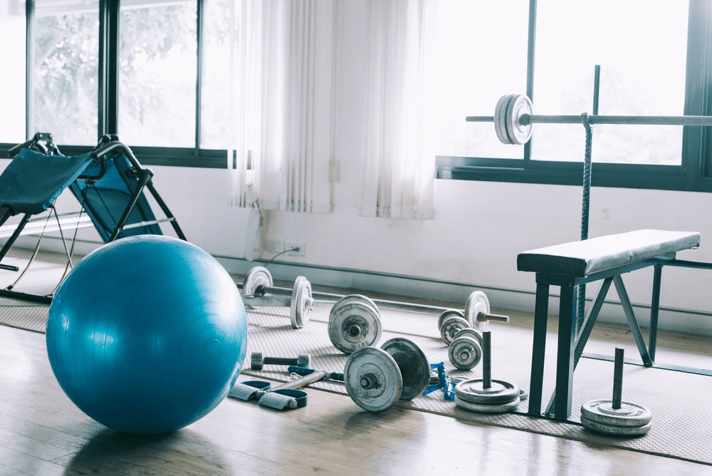 keys to set up a gym at home