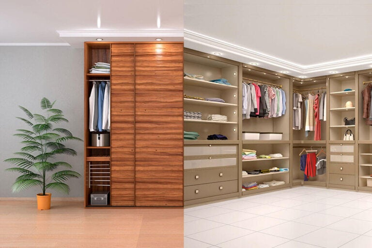 Closets or Dressing Rooms: Which is the Best?