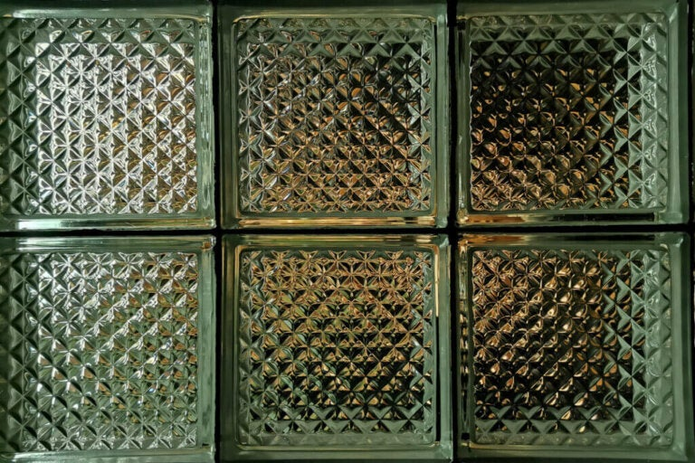 Corrugated Glass Block Partitions: Function and Aesthetics