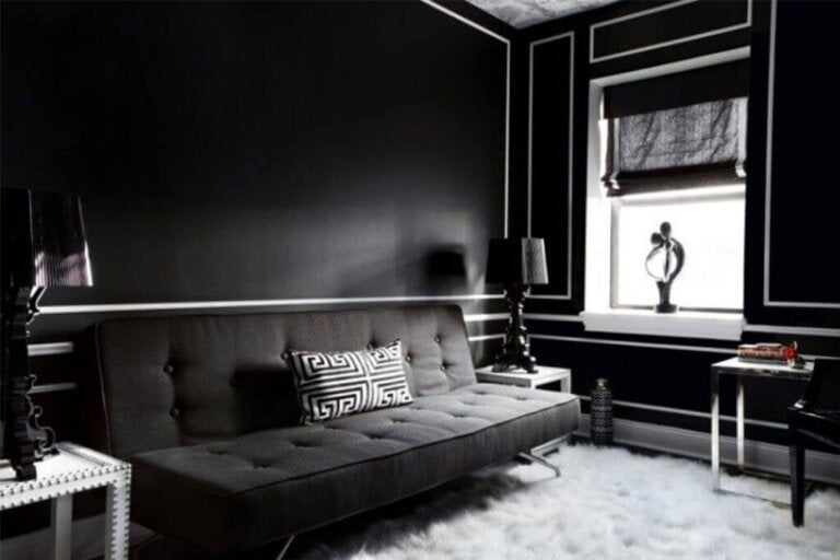 Advantages and Disadvantages of Painting Your Walls Black